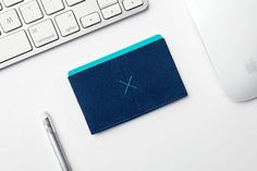 Slim Wallet - Blue                         – Supr Good Co