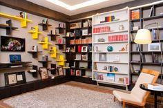 Estantes para livros - Biblioteca em casa | Dicas de Decoração | Blog de Decoração LojasKD