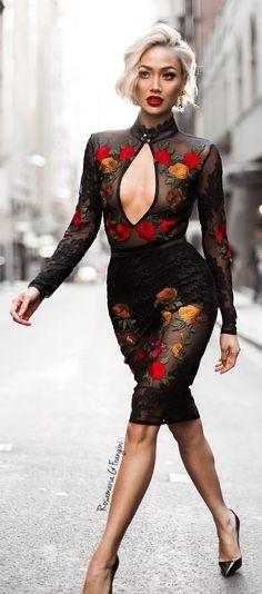 Rosamaria G Frangini | High Chic Fashion | BlackKaleidoscope |