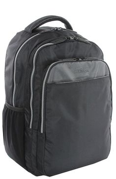 Kenneth Cole Reaction 'Put My Two Cents In' 16' Computer Backpack with Pouch ** Special  product just for you. See it now! : Travel Backpack