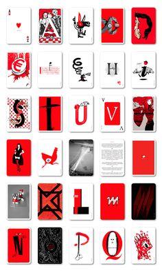Abrecartas.  Ilustradores, artistas, diseñadores y fotógrafos crean un abecedario ilustrado.
