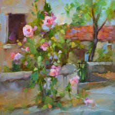 The Romance of Paris, painting by artist Dreama Tolle Perry