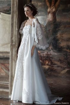 Alberta Ferretti #Bridal Forever 2016 #Wedding Dresses | Wedding Inspirasi #weddings #weddinggown #weddingdress
