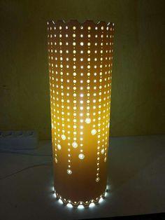 Can Lanterns, Tea Light Lanterns, Paper Lanterns, Tea Lights, Diy Furniture For Sale, Pvc Pipe Crafts, Pipe Lighting, Glass Sink, Tin Art