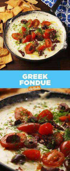 Greek Fondue