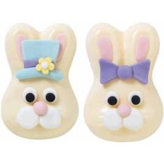 can use this design  for cookies or cakes.. use chicklet gum for teeth. insert under mouth.  even cuter.