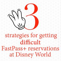 Sometimes even after you've done all of the research for your Disney World trip and you feel super well prepared, you come up empty on a couple of FastPass+ reservations that you had hoped to get. Yes, that happens (and just happened to me recently). Here are some strategies to help. Which...