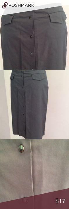 Armani Exchange Skirt Gray Skirt Armani Exchange Skirts