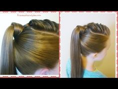 "Be sure to subscribe. We have more ""back to school"" hairstyle videos coming throughout the month of August for you! http://youtube.com/hair4myprincess We lov..."