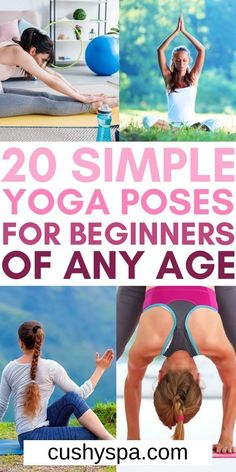 If you are new to yoga you need to try these simple yoga poses for beginners of any age this week. These wonderful yoga tips will help you feel more confident and enjoy more yoga practices. #Yoga #YogaBeginner Easy Yoga Poses, Yoga Poses For Beginners, Yoga Facts, Simple Yoga, Yoga Motivation, Self Care Activities, Yoga Positions, Yoga For Flexibility, Yoga For Weight Loss