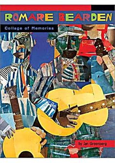 Musicians in Romare Bearden's work. Much rougher than rand's collages, but still evocative