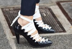 BALENCIAGA football shoes!-Tommy Ton Shoots the Street-Style Scene at the Fall 2012 Shows
