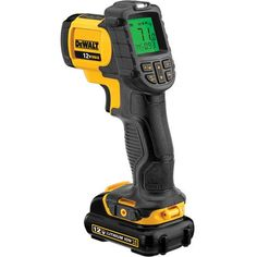 DEWALT Digital Test Meter at Lowe's. Dewalt's new 12 Volt MAX infrared thermometer is ideal for electricians, plumbers, remodeler and HVAC contractors who are tasked with scanning for Cool Tools, Diy Tools, Hand Tools, Hobby Tools, Essential Woodworking Tools, Antique Woodworking Tools, Woodworking School, Woodworking Projects, Woodworking Plans