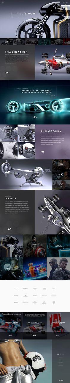 creative and modern web design