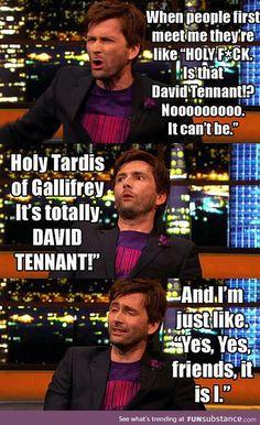 Is it david tennant?