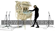 Music and Marble Machine composed and built by Martin Molin Filmed and Edited by Hannes Knutsson Video where i am making the 128 teeth programming wheel gear...