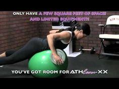 Home Back Workout for Women - Bra Bulge Banishing Workout!