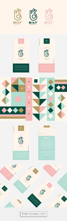 Mily Chocolatier Brand Identity by Lucas Jubb | Fivestar Branding Agency – Design and Branding Agency & Inspiration Gallery