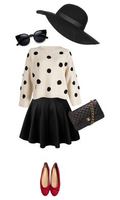 """""""Casual Chic"""" by chloepop on Polyvore featuring Chanel, Topshop, casualoutfit and CasualChic"""