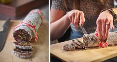 Chocolate salami: recipe from Crumbs Magazine Chocolate Salami Recipe, Salami Recipes, Biltong, Personal Taste, Berries, Magazine, Snacks, Drink, Cooking