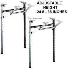 14 wide replacement adjustable height h style steel folding table 14 wide replacement adjustable height h style steel folding table legs 2 pack folding table legs folding tables and steel watchthetrailerfo