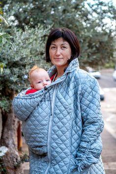 Topatop Maternity Jacket. Babywearing Jacket. by Topatopslings