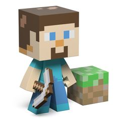 J!NX : Minecraft Steve Vinyl - Clothing Inspired by Video Games & Geek Culture