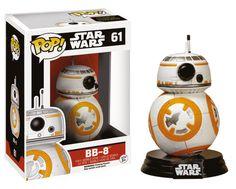 Star Wars Episode VII POP! Vinyl Wackelkopf-Figur BB-8 Droid 10 cm