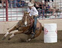 The 1st dream I ever had, one little accident  I've been too scared to do it for the past 10 years. Some day I would love to barrel race though.
