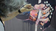 Uribe está pintado Hair Styles, Beauty, Artists, Hair Plait Styles, Hair Makeup, Hairdos, Haircut Styles, Hair Cuts, Hairstyles