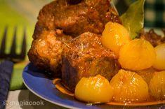 Στιφάδο με κρέας   magiacook