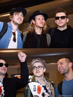 New pic of McBusted at the airport