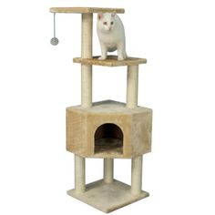 Armarkat Cat Tree | Furniture & Towers | PetSmart Thinking if the Grand kitty is going to be spending some time, this would be awesome!