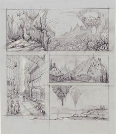 Environments!, Bobby Rebholz on ArtStation at https://www.artstation.com/artwork/QzbAx