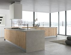 Dealer of Modern Italian Kitchens from Doimo Cucine. Providing you with a variety of different finishes from concrete, lacquer, wood veneers, and laminate.