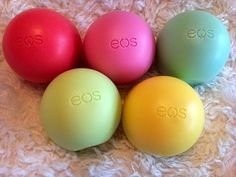 EOS Lip balm! one of my all time favorite lip conditioners =) never fails to do the job