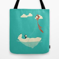 Parasailing Tote Bag