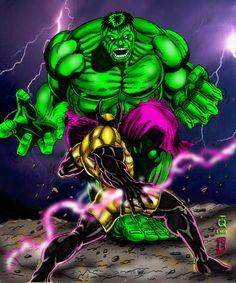 #Hulk #Fan #Art. (Hulk vs Overcast_TQ and rbel) By:BigRob1031. (THE * 3 * STÅR * ÅWARD OF: AW YEAH, IT'S MAJOR ÅWESOMENESS!!!™)[THANK Ü 4 PINNING!!!<·><]<©>ÅÅÅ+(OB4E)