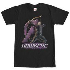 Marvel Hawkeye Aim High Black T-Shirt