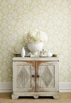 Wallpaper Does Make A Difference! Feature on Schumacher! | The Designer Insider