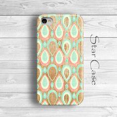 Wood Print iPhone 5 Case, Vintage iPhone 5s Case, Wood Drops iPhone 4 Case, iPhone 4s Case, iPhone 5 Cover by Star Case