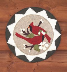 Cardinals and Blooms Pattern. $9.00, via Etsy.
