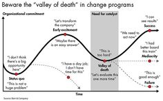 valley of death in large scale change programs
