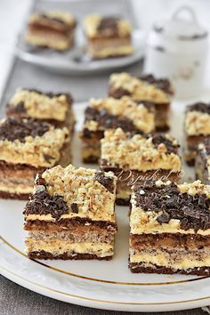 Torte Cake, Polish Recipes, Cheesecake, Good Food, Food And Drink, Sweets, Chocolate, Baking, Eat