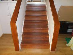 Laminate flooring on stairs in Herzelia  מדרגות מחופות פרקט למינציה בהרצליה  יורם פרקט מכירה והתקנה טל: 050-9911998 https://sites.google.com/site/yoramparcet/