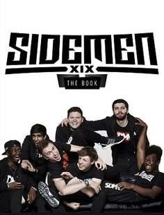 in October the sidemen book comes out. if you preorder the book you can win a day with the sidemen and gaming with them. links are in the description under everyone's channel.