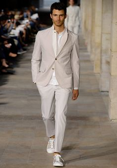 Hermes....wedding type $#@! Losw the shoes doh...loafers would work