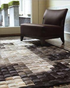 #Patchwork #tapijt voor een zachte natuurlijke look  feel