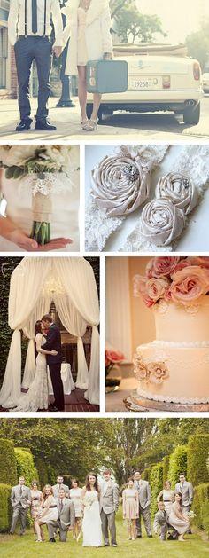 A Vintage Wedding Inspiration Board to Inspire Your Elegant Affair - My Wedding Reception Ideas | Blog