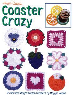 Coaster Crazy Crochet Pattern Leaflet